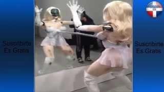 Mujer Sexi Bailando Robo¡