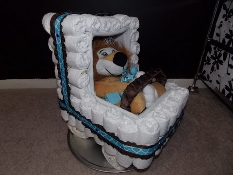 Lion Diaper Carriage Tutorial