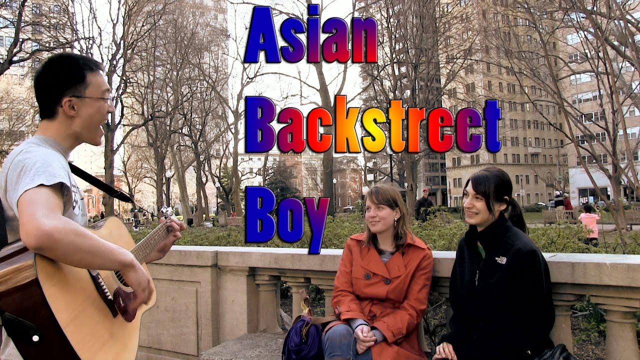 Asian backstreet boys funny