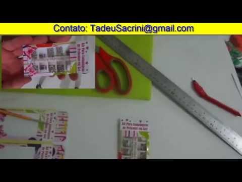 Apresentação de Como Fazer Embalagem Personalizada para Peliculas de Unhas