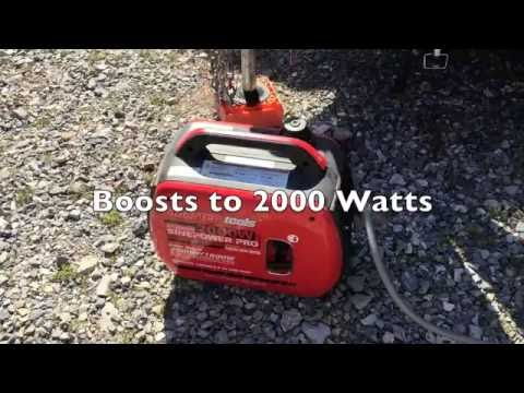 Review of the Costco Smarter Tools AP2000iQ Inverter Generator used on an Airstream
