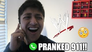 PRANK CALLING 911 *WITH JOHN CENA VOICE*
