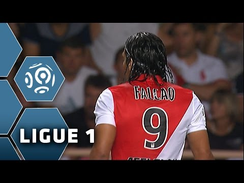 Falcao's come back and first goal - Monaco - Lorient (1-2) / 2014-15