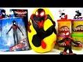 Gigante Uomo Ragno(Spider-Man Into The Spider-Verse Miles Morales)Play Doh Sorpresa Uovo Animazione thumbnail