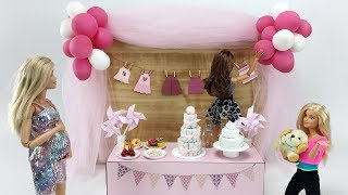 THE MOST EXPECTED BABY SHOWER OF THE YEAR Barbie doll version! How to do it, tips and more!