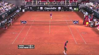 Nadal vs Gimeno Traver, Rio Open 2014 , highlights HD   1st Round   180214