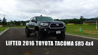 LIFTED 2016 TOYOTA TACOMA SR5 4x4