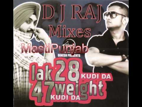 Lak-28-kudi-da-47-weight-kudi-da Mix By D J Raj.wmv video