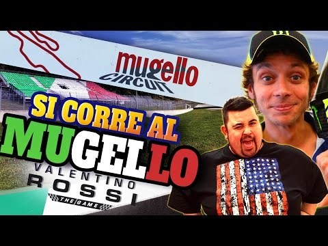 Valentino Rossi - The Game: Si Corre in Casa...Al MUGELLO!