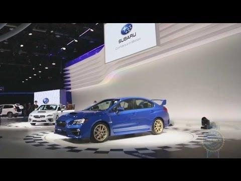 2015 Subaru WRX STI - 2014 Detroit Auto Show