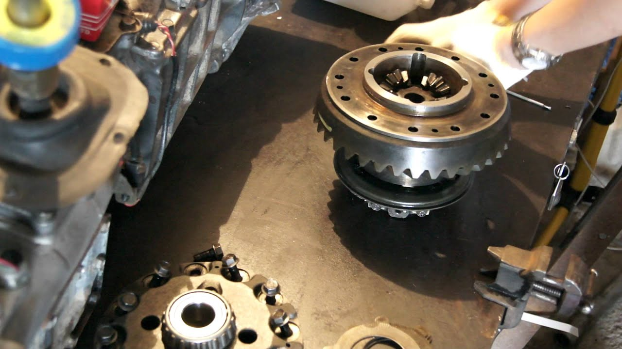 Pajero Rear Axle Differential Youtube
