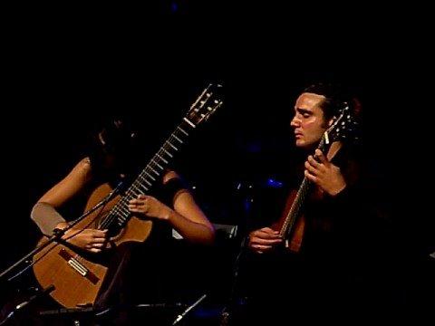 Guitar Duo Melis Danzas Argentinas Alberto Ginastera