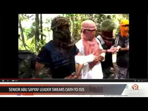 Senior Abu Sayyaf leader swears oath to ISIS