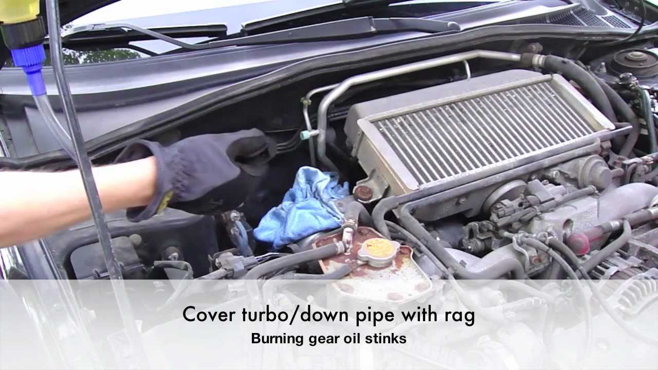 Gear Oil Change - YouTube
