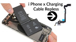 i Phone X Not Charging Repair By FlexCable