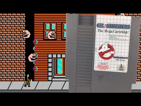 NES Hacks: SMS Ghostbusters for NES