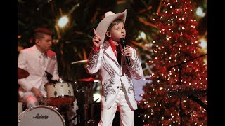 Mason Ramsey Is Dreaming of a 'White Christmas'