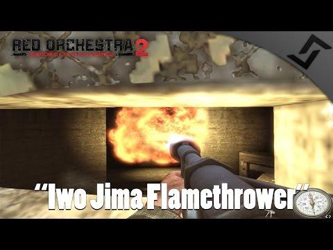 Rising Storm - Iwo Jima Flamethrower Gameplay