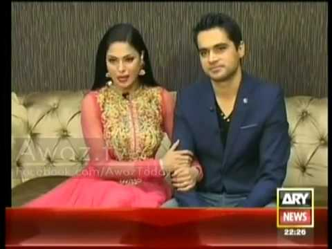 Veena Malik , Exclusive interview , 5th January 2014 , Veena Malik after Marriage