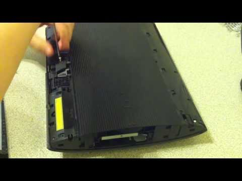 How to disassemble ps3 super slim