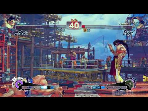 Super Street Fighter IV 'E.Honda vs Vega Gameplay' TRUE-HD QUALITY Video