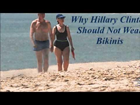 BREAKING NEWS — Why Hillary Clinton Should Not Wear Bikinis #35