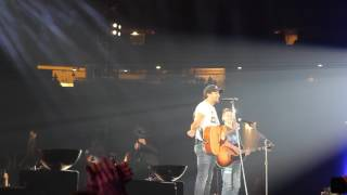 Luke Bryan Invites Ethan on Stage at AT&T Stadium Make-A-Wish