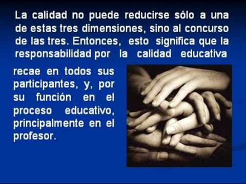 VIDEO MAESTRO Y CALIDAD EDUCATIVA