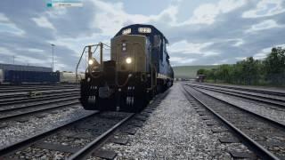 Train Sim World CSX Heavy Haul - СТРИМ! Мой первый рабочий день!