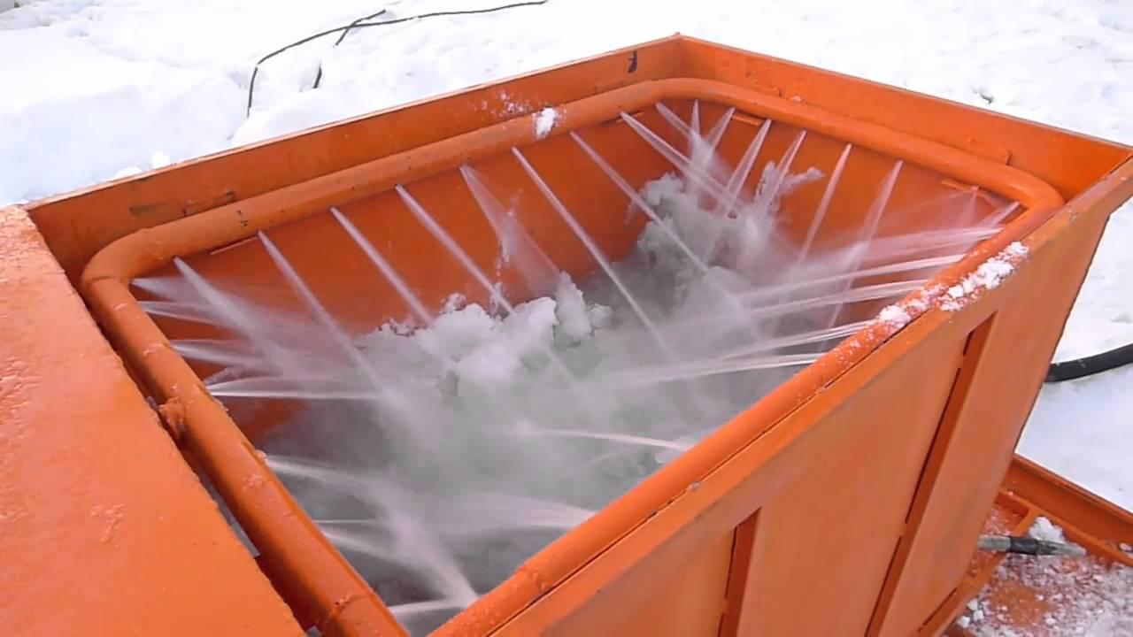 Снегоплавильная установка своими руками