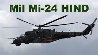 Mil Mi-24 HIND, Pardubice Airshow 2017