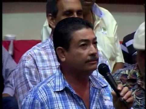 Duhamel Colon presidente del Coliseo gallístico de Isla V
