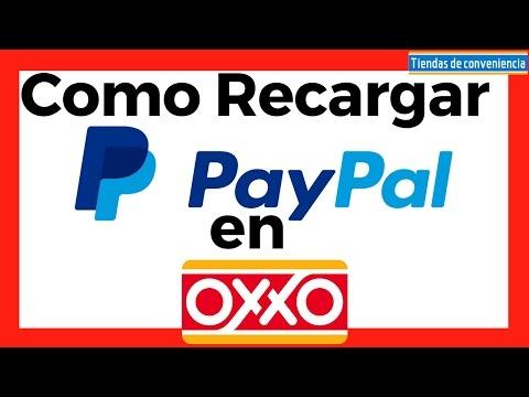 Recargar PayPal en OXXO Paso a Paso para comprar por Internet