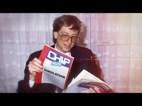 Zeitreise durch 40 Jahre Technik- und Computergeschichte mit CHIP - 40 Jahre CHIP