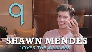Download Lagu Shawn Mendes loves 'older rock' like The Killers Gratis STAFABAND