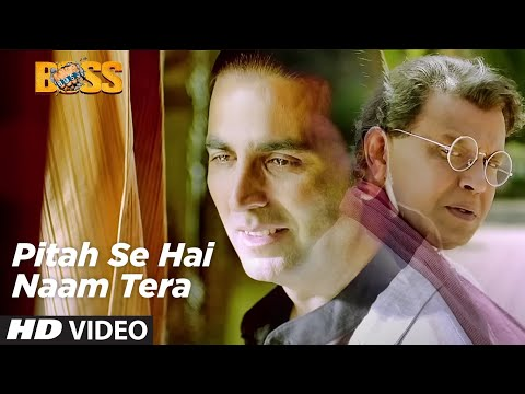 Pitah Se Naam Hai Tera Full Video Song Boss Hindi Movie 2013...