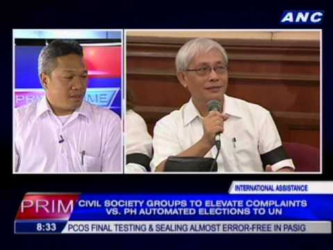 Civil society groups to elevate complaint vs PH automated elections to UN