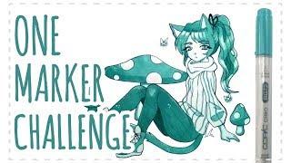 ☆ ONE MARKER CHALLENGE ☆