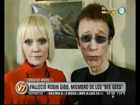 Visión Siete: Murió Robin Gibb, el cantante de los Bee Gees