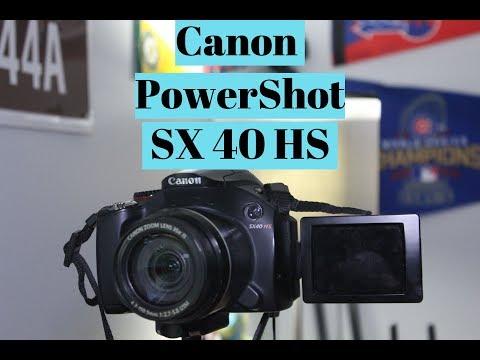 Canon Power SX40 HS   Review