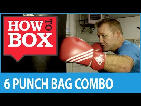 Heavy Bag 6 Punch Boxing Combination Image 1