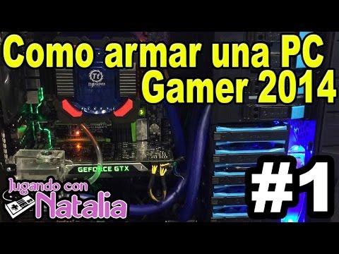 Como Armar una Pc Gamer - Aprendiendo Con Natalia #1