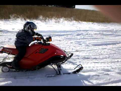 Yamaha sno scoot mod sled how to save money and do it for Yamaha sno scoot