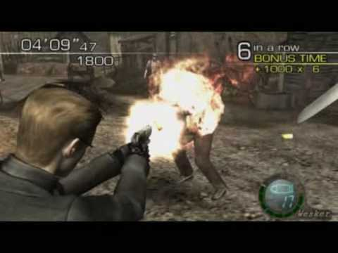 Resident Evil 4 (PC) Mercenaries - Wesker Village - 150000+