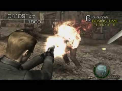 Resident Evil 4 (PC) Mercenaries - Wesker Village - 150000+