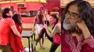 Bigg Boss 10 6th Jan 2017 Om Harami & not Swami. And Sofia Plasticated Hayat supporting Om plus more