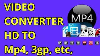 Format Factory video converter | HD to 3gp | HD to Mp4 | MP4 | RMVB | WMV | 3GP