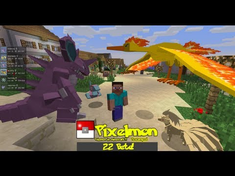 Pixelmon 2.2 Beta Preview [Minecraft 1.5.2]