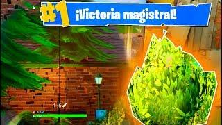 +12 KILLS DE ARBUSTO!! Fortnite: Battle Royale (PS4)