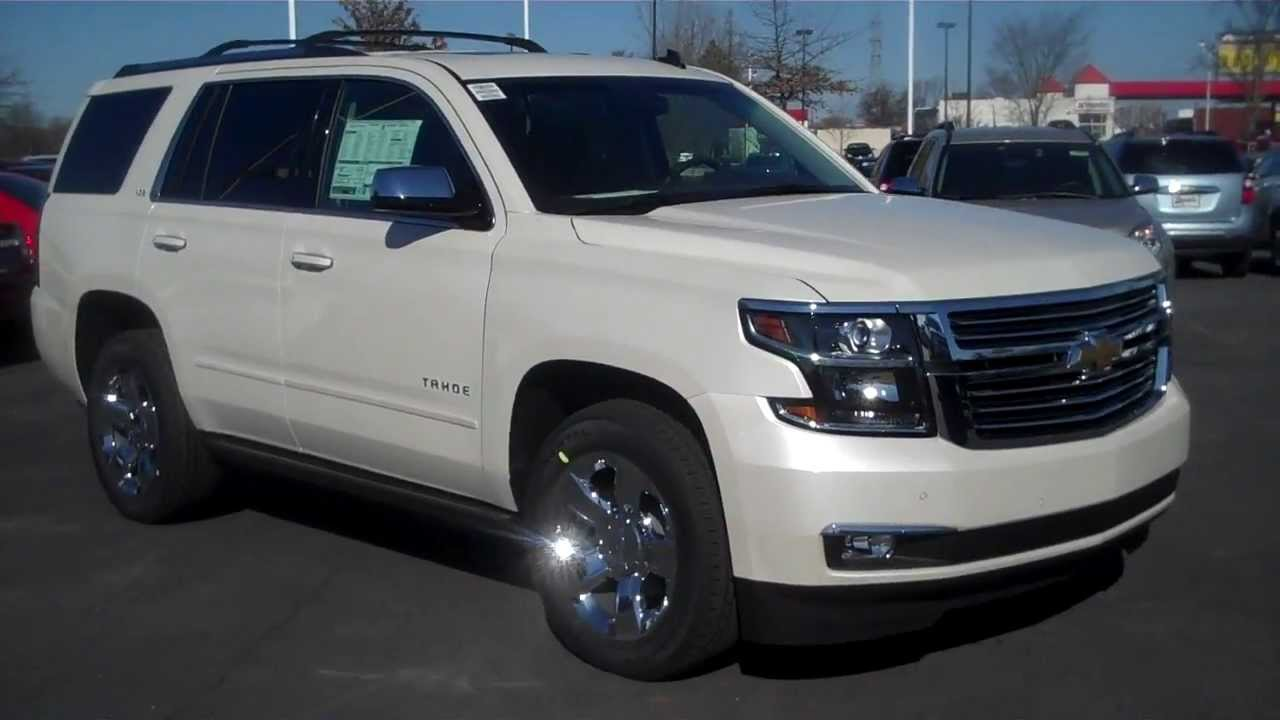 2015 Chevrolet Tahoe Ltz White Diamond Burns Cadillac